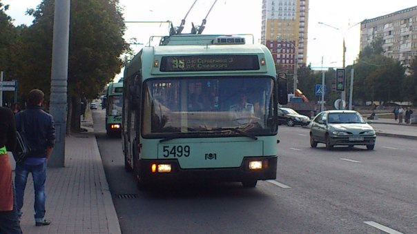 טרוליבוס במינסק