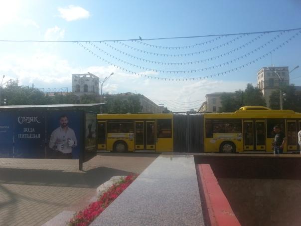 אוטובוס מפרקי במינסק